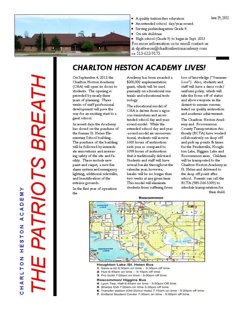 Newsletter June 29